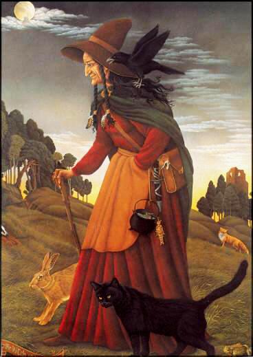 La Sorcières Blanche du Bois Sauvage par Barrington Coleby