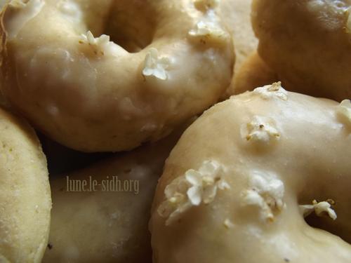 Gâteaux parfumés aux fleurs de sureau. Photo : Lune